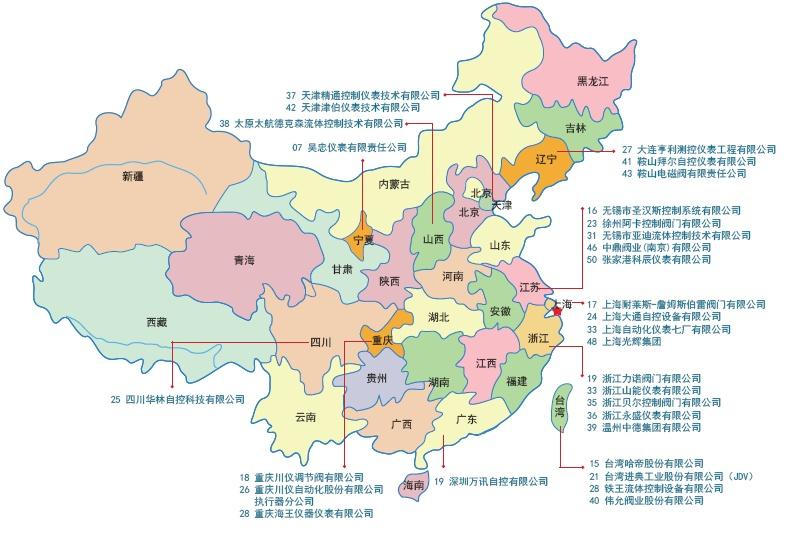 中国江苏无锡市地图